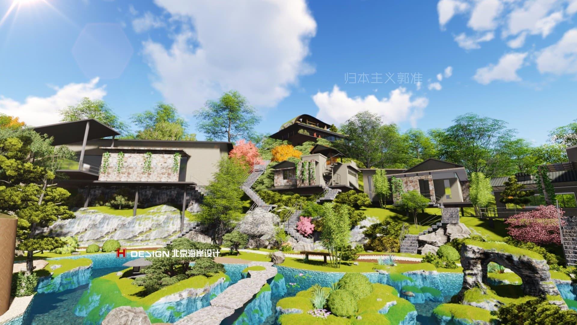 小镇设计|文旅产业规划|文旅产业设计|集装箱房屋设计|集装箱别墅设计