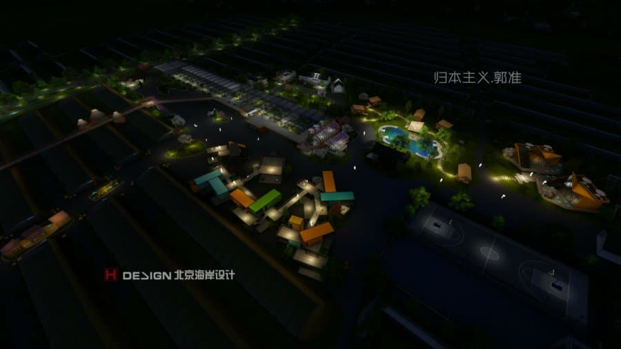 北京海岸装饰设计|设计师郭准先生|归本主义|特色小镇设计