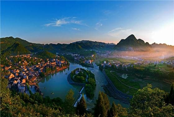 特色小镇设计 湘西土家族苗族自治州花垣县边城镇项目
