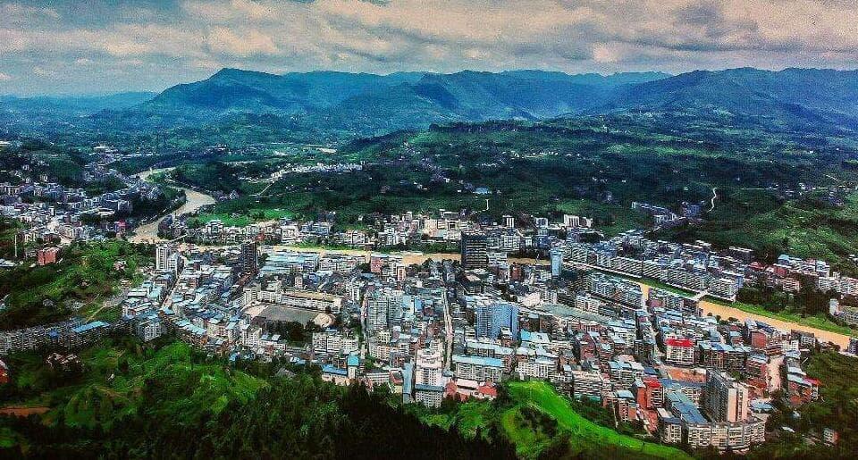 特色小镇设计 达州市宣汉县南坝镇项目规划